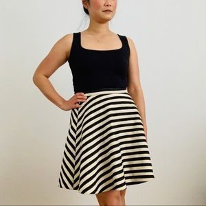 Anthropologie Greylin Stripped Skirt, Size 2